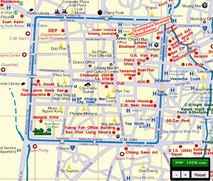 Click for Map of Chiang Mai